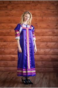 Сарафан «Алёнушка» фиолетовый