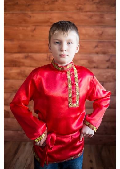 Косоворотка «Дмитрий» красная