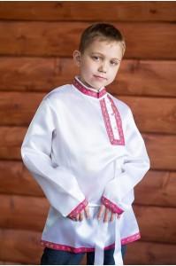 Косоворотка «Дмитрий» белая