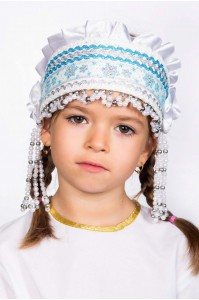 Кокошник «Инна» белый