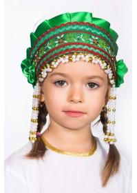Кокошник «Инна» зеленый