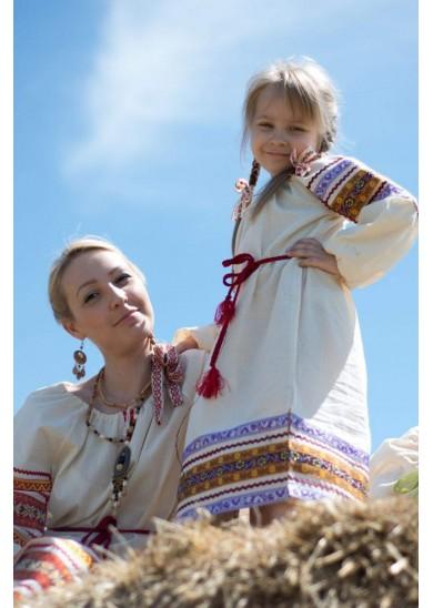 Рубаха «Василиса» натуральная