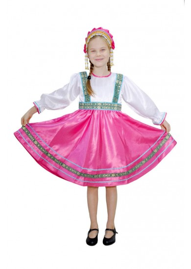 Платье «Сияна» розовое