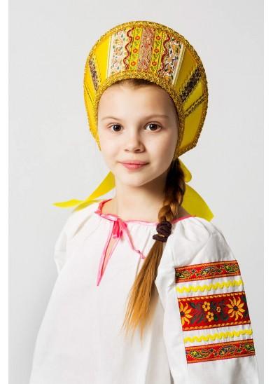 Кокошник «Марья» золото