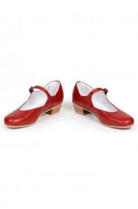 Красные туфли для русских народных танцев
