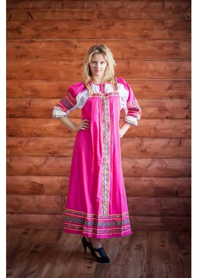 Сарафан «Дарья» розовый