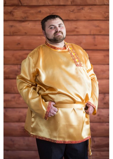 Косоворотка «Дмитрий» золотая
