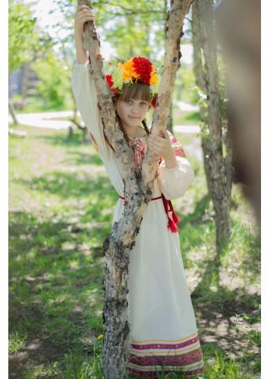 Рубаха «Василиса» цвет натуральный