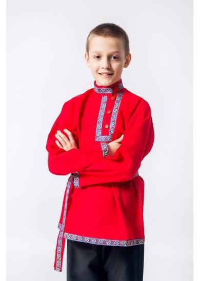 Косоворотка «Иван» красная