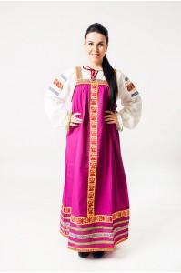 Сарафан «Дарья» фиолетовый