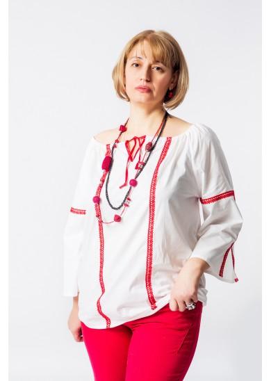 Блузка «Анфиса» белая