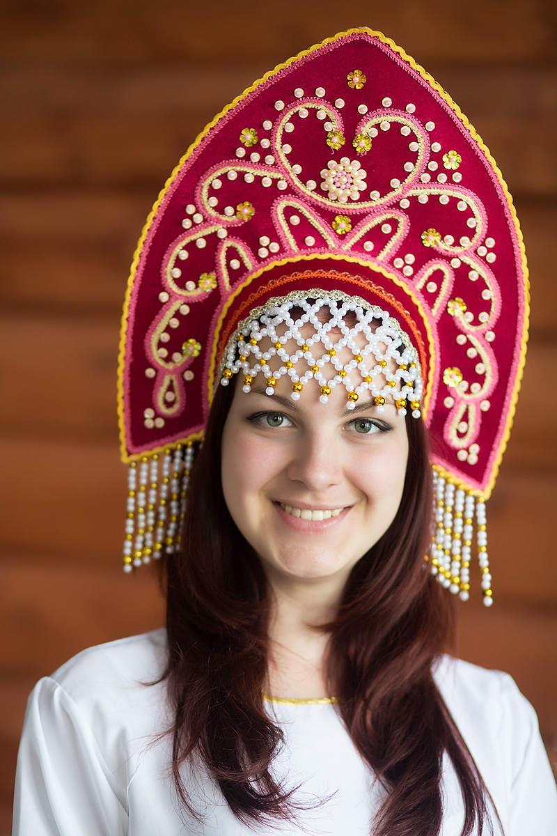 Кокошники русские народные